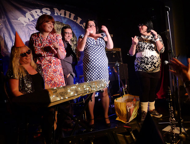 Mrs Mills Experience at Duckie Club at the Royal Vauxhall Tavern, 372 Kennington Lane, London SE11 5HY, 15th September 2012