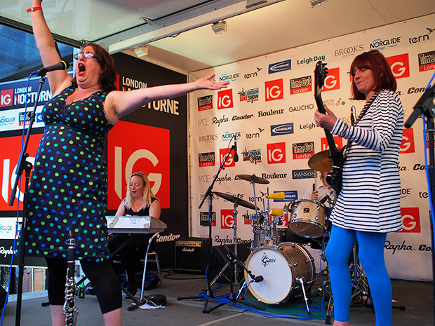 The Mrs Mills Experience at the London Nocturne, Smithfield Market, Farringdon, central London, Saturday 8th June 2013