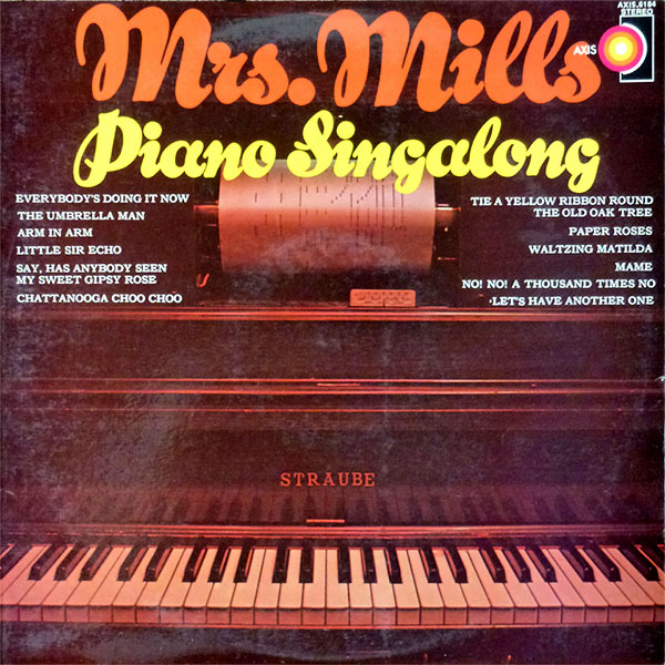 Mrs Mills - a collection of album covers